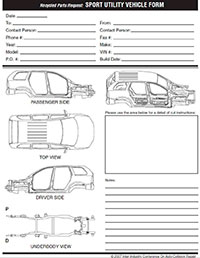 Sport Utility Vehicle Form